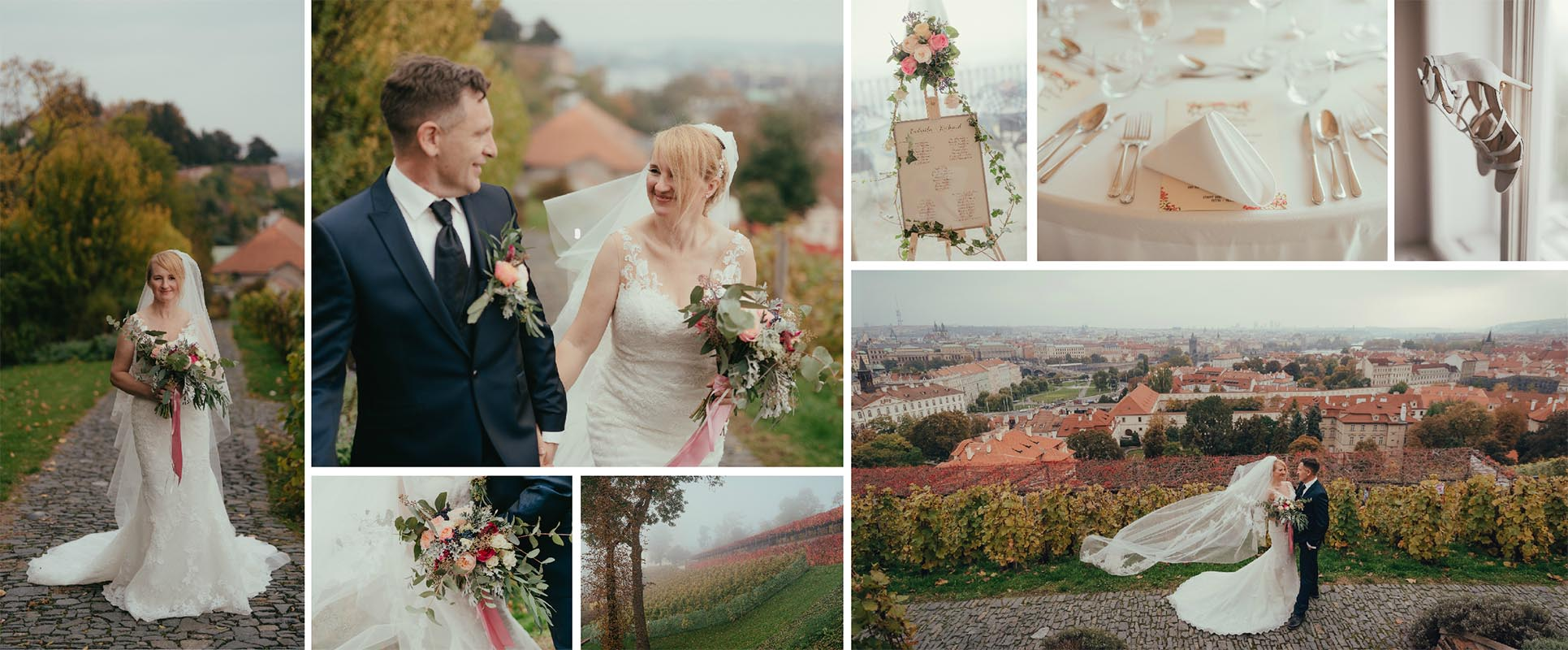 Wedding Factory Svatební agentura Praha Svatba koláž
